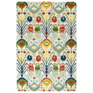 Global Inspiration Multicolor Rectangular: 2 Ft. x 3 Ft. Rug