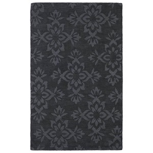 Imprints Classic Charcoal Rectangular: 5 Ft. x 8 Ft. Rug
