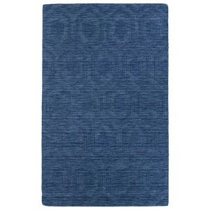 Imprints Modern Blue Rectangular: 5 Ft. x 8 Ft. Rug
