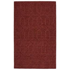 Imprints Modern Cinnamon Rectangular: 5 Ft. x 8 Ft. Rug