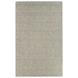 Imprints Modern Oatmeal Rectangular: 5 Ft. x 8 Ft. Rug