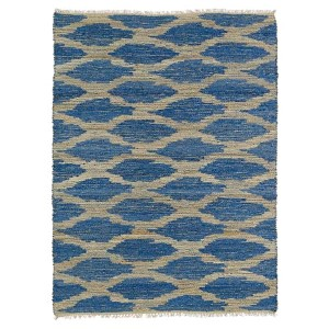 Kenwood Navy KEN01 Rectangular: 5 Ft. x 7 Ft. 9 In. Rug