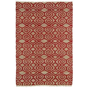 Kenwood Red KEN02 Rectangular: 5 Ft. x 7 Ft. 9 In. Rug