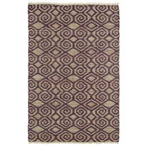 Kenwood Plum KEN02 Rectangular: 5 Ft. x 7 Ft. 9 In. Rug