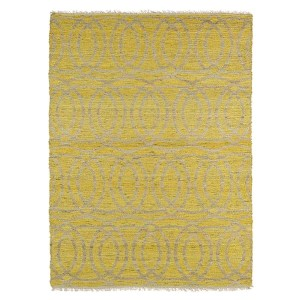 Kenwood Yellow KEN03 Rectangular: 5 Ft. x 7 Ft. 9 In. Rug