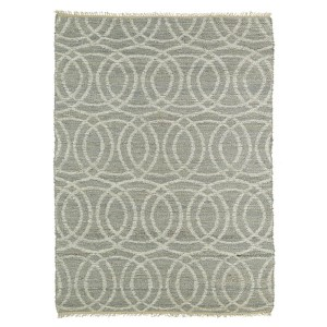 Kenwood Grey KEN03 Rectangular: 5 Ft. x 7 Ft. 9 In. Rug