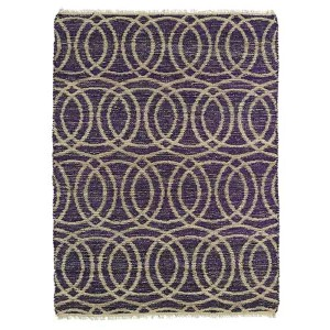 Kenwood Purple KEN03 Rectangular: 5 Ft. x 7 Ft. 9 In. Rug
