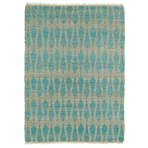Kenwood Teal KEN04 Rectangular: 5 Ft. x 7 Ft. 9 In. Rug