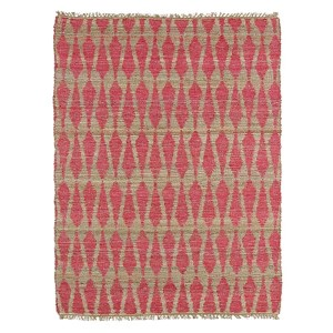 Kenwood Pink KEN04 Rectangular: 5 Ft. x 7 Ft. 9 In. Rug