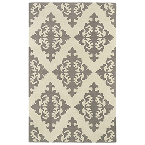 Evolution Grey Hand Tufted 9Ft. 9In Round Rug