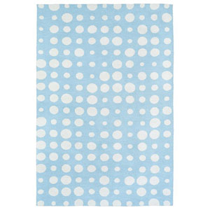 Lily and Liam Blue Rectangular: 2 Ft. x 3 Ft. Rug