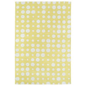 Lily and Liam Yellow Rectangular: 2 Ft. x 3 Ft. Rug