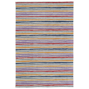 Lily and Liam Multicolor Rectangular: 2 Ft. x 3 Ft. Rug