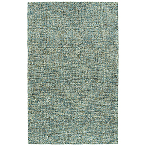Lucero Teal Hand-Tufted 8Ft. x 10Ft. Rectangle Rug