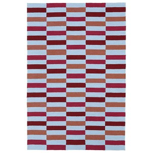 Matira Cranberry Rectangular: 5 Ft. x 7 Ft. 6 In. Rug