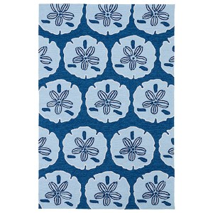 Matira Sky Blue Rectangular: 5 Ft. x 7 Ft. 6 In. Rug