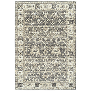 McAlester Grey Machine Made 9Ft. x 13Ft. Rectangle Rug