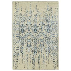 Mercery Blue Rectangular: 2 Ft. x 3 Ft.