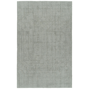 Minkah Silver Hand-Loomed 5Ft. x 7Ft. Rectangle Rug
