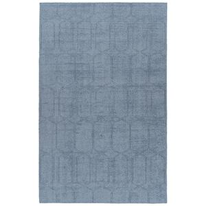 Minkah Blue Hand-Loomed 9Ft. x 12Ft. Rectangle Rug