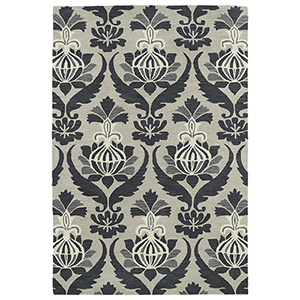 Melange Grey Rectangular: 2 Ft. x 3 Ft.