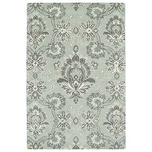 Melange Pewter Rectangular: 2 Ft. x 3 Ft.