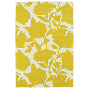 Melange Yellow Rectangular: 2 Ft. x 3 Ft.