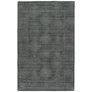 Palladian Charcoal Hand-Tufted 4Ft. x 6Ft. Rectangle Rug