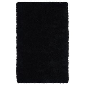 Posh Black Handmade 9Ft. x 12Ft. Rectangle Rug