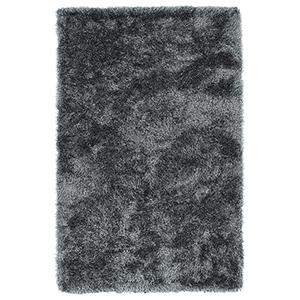 Posh Grey Handmade 9Ft. x 12Ft. Rectangle Rug