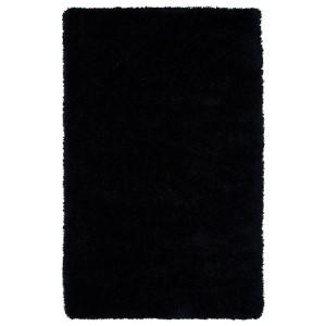 Posh Black PSH01 Rectangular: 8 Ft. x 10 Ft. Rug