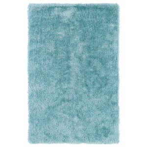 Posh Light Blue PSH01 Rectangular: 5 Ft. x 7 Ft. Rug