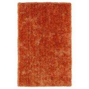 Posh Orange PSH01 Rectangular: 5 Ft. x 7 Ft. Rug
