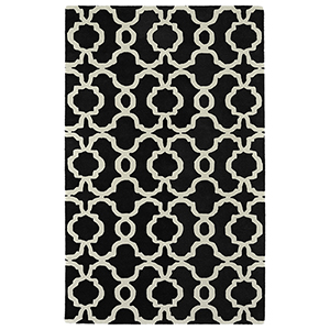 Revolution Black Hand Tufted 11Ft. 9In Round Rug