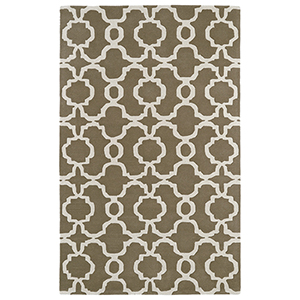 Revolution Lt. Brown Hand Tufted 11Ft. 9In Round Rug