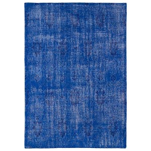 Restoration Blue and Navy Rectangular: 5 Ft. 6 In. x 8 Ft. 6 In. Rug