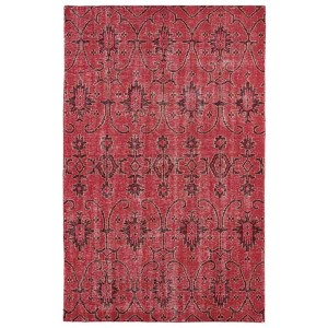 Restoration Red Rectangular: 5 Ft. 6 In. x 8 Ft. 6 In. Rug