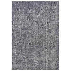 Restoration Grey Rectangular: 5 Ft. 6 In. x 8 Ft. 6 In. Rug