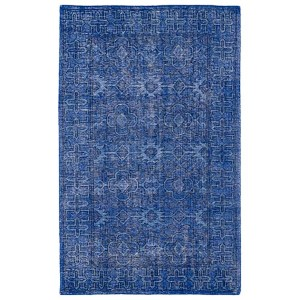 Restoration Blue Rectangular: 5 Ft. 6 In. x 8 Ft. 6 In. Rug