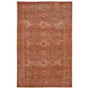 Restoration Paprika Rectangular: 5 Ft. 6 In. x 8 Ft. 6 In. Rug