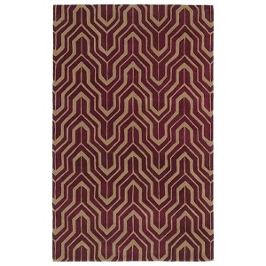 Revolution Plum Rectangular: 5 Ft. x 7 Ft. 9 In. Rug