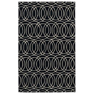 Revolution Black Rectangular: 5 Ft. x 7 Ft. 9 In. Rug