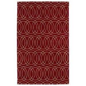 Revolution Red Rectangular: 5 Ft. x 7 Ft. 9 In. Rug