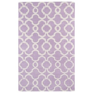 Revolution Lilac Rectangular: 5 Ft. x 7 Ft. 9 In. Rug