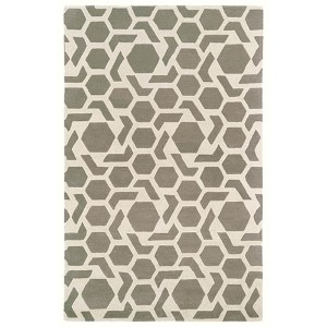 Revolution Grey Rectangular: 5 Ft. x 7 Ft. 9 In. Rug