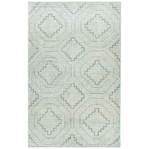 Solitaire Glacier Hand-Woven 8Ft. x 11Ft. Rectangle Rug