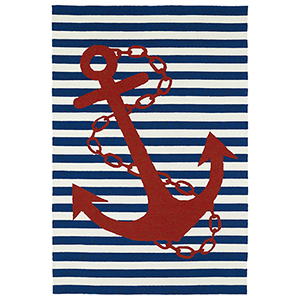 Sea Isle Navy Rectangular: 2 Ft. x 3 Ft.