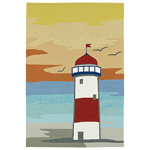 Sea Isle Multicolor Rectangular: 2 Ft. x 3 Ft.