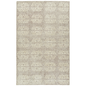 Solitaire Mink Hand-Woven 4Ft. x 6Ft. Rectangle Rug