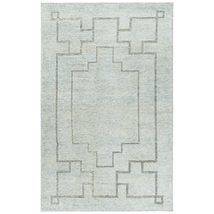 Solitaire Glacier Hand-Woven 4Ft. x 6Ft. Rectangle Rug